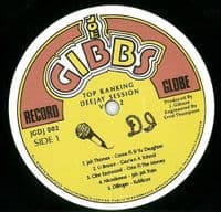 Top Ranking D.J. Session Volume II Vinyl Record LP Joe Gibbs Record Globe 2019